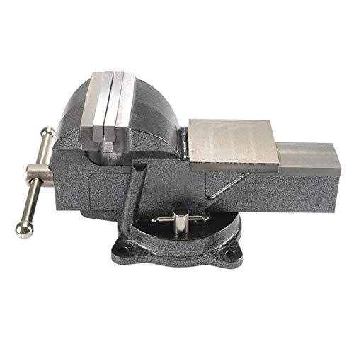 LEISHENT Tornillo de Banco Giratorio a 360 Grados, Abrazadera para Banco de Trabajo Especificación: 3 Pulgadas, Yunque: 83x72 mm, Longitud de la mordaza: 75 mm