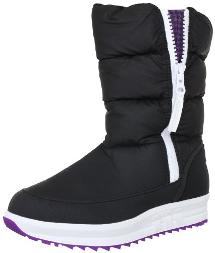 adidas Originals SPORTY SNOWPARADISE G60640, Damen Stiefel, Schwarz (BLACK1/BLACK), EU 43 1/3 (UK 9) (US 10.5)