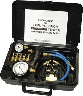 Lowest Price! Fuel Injection Pressure Tester with 2 Gauges
