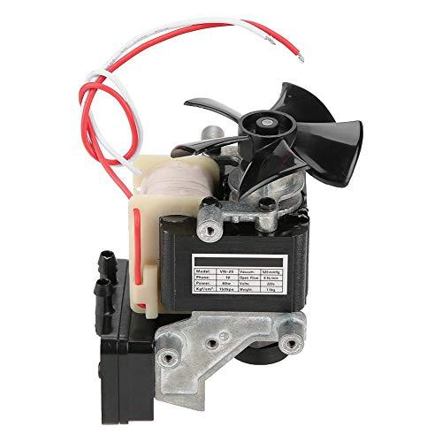 Elektrische vacuümpomp, 220 V, 60 W, ingebouwde geluiddemper voor olievrije compressor, motor, geruisloos