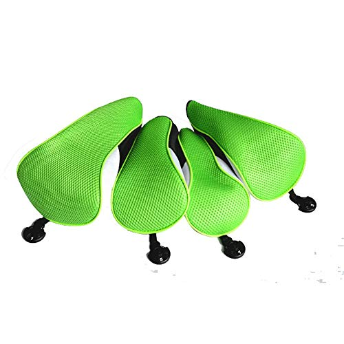 DHTOMC Golf Clubs Iron Head Covers Golf Putter Headcover Golf Wood Putting Cover Set Of 4 Reticulated Golf Protection Cover For1/3/5/ Fairway All Men And Women Are Good Light Durable