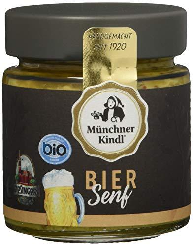 Münchner Kindl Bier Senf, 6er Pack (6 x 125 ml)