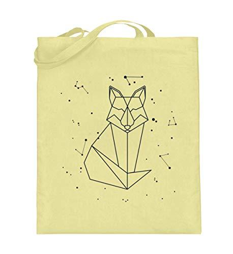 Generisch Sternbild Fuchs Sternzeichen Jutebeutel | Füchse Galaxie Sterne Baumwolltasche