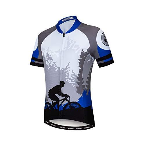 Fahrradtrikot für Kinder, kurzärmeliges T-Shirt für Jungen und Mädchen, Cartoon-Oberteil, atmungsaktiv, schnelltrocknend, S-XXL