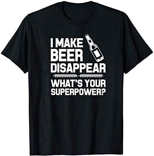 Volly ik maak bier verdwijnen wat uw Superpower mannen vrouw Unisex 100% katoen Humor grafische O-hals comfortabele Tee Fashion korte mouw Sport T-Shirt