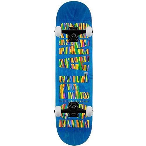 Plan B Skateboards Team Og Sheffey - Skateboard completo, 20 cm, colore: Blu