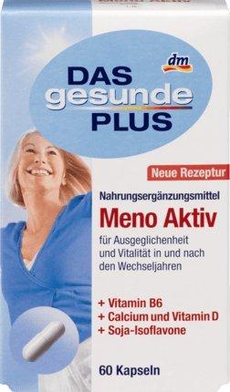 DAS gesunde PLUS Meno Aktiv Kapseln, 60 St Nahrungsergänzungsmittel