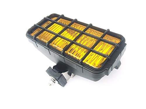 Nebelscheinwerfer Gelb Yellow mit Schutzgitter 12/24V