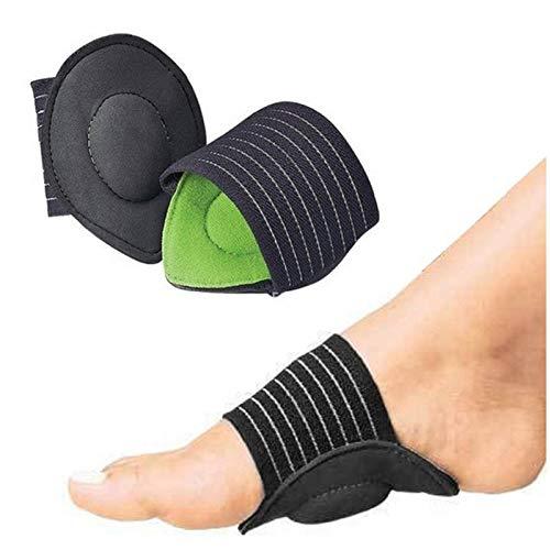 Enkelband 1 paar bandage voet hak pijn verlichting Plantar Fasciitis binnenzool pads boog ondersteuning schoenen invoegen pad