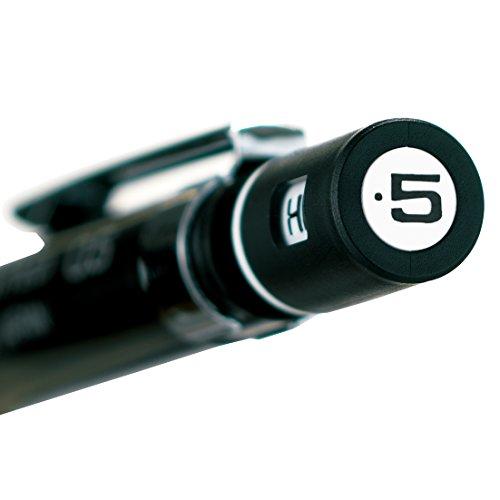 Pentel mechanical pencil GRAPH1000 0.5mm Black (japan import) Photo #6