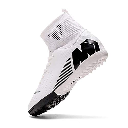 Niber Herren Jungen Turf Cleats Soccer Athletic Football Outdoor Indoor Sports Running Walking Schuhe Soprting Boots, Grn