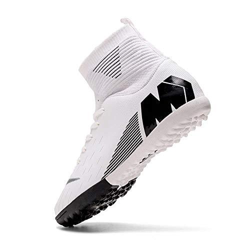 Niber Herren Jungen Turf Cleats Soccer Athletic Football Outdoor Indoor Sports Running Walking Schuhe Soprting Boots, Grn