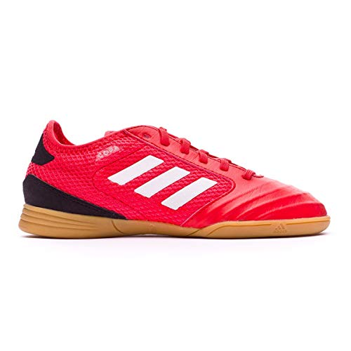 Adidas Copa Tango 18.3 J, Zapatillas de fútbol Sala Unisex niño, Negro (Negbás/Ftwbla/Correa 000), 31.5 EU