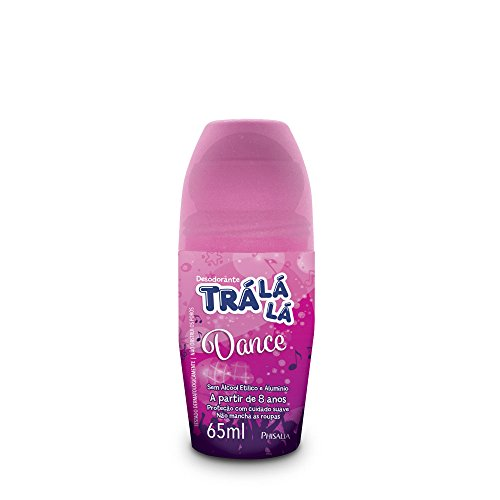 Desodorante Roll-On Dance, Trá Lá Lá, Rosa, 65 ml