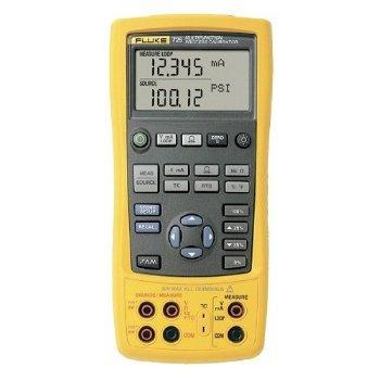 FLUKE 725 usa calibratore multifunzione processo, batteria da 4 aa, 3200 ohm resistenza, tensione 30v, corrente 24mA, 10 kHz