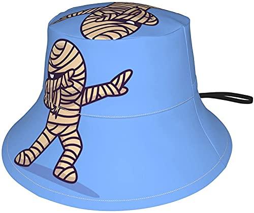 KEROTA Sombrero de cubo plegable para niños, lindo oso polar con impresión...