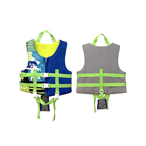 Great Price! HJAZ Life Jacket, Comfortable Vest, Oxford Quality Material, Suitable for Snorkeling, S...