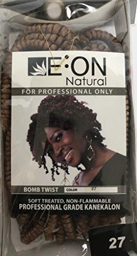 EON''BOMB TWIST' Natural hair Braiding #27 Blonde (comes with 3 additional items) s