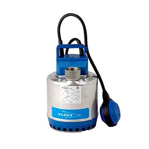 Flygt Hebepumpe Steelinox SXM2, 0,25 kW, leer, Keller bis 8,1 m³/h, einphasig, 220 V