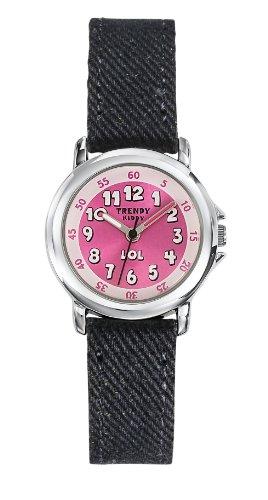 Trendy Kiddy Unisex Analog Quarz Uhr mit Textil Armband KL 307