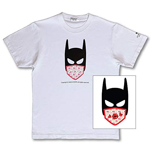 Women's T-Shirt Size 2-4, Batman Kiss by Augmented Reality, Sustainable & Creative