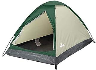 組立式2人用ドームテント キャンプ レジャー アウトドア 収納袋付き 持ち運びラクラク