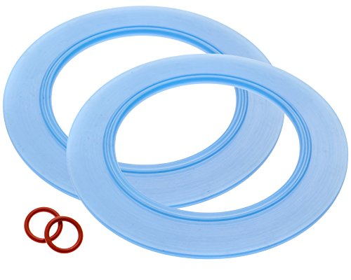 2-Pack of American Standard -Compatible Canister Flush Valve Seal Kit Replacements For Toilets (Equivalent to Parts # 7301111-0070A / 7301111 0070A)