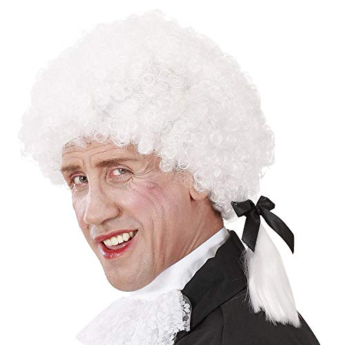 Widmann Mozart in pruikenkist voor heren party en carnaval, 261, meerkleurig, 8003558063949