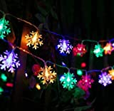 xiahe Guirnalda de luces LED de 5 m con 50 luces LED para el día de San Valentín, dormitorio, ventana, boda, cumpleaños, fiesta, interior y exterior, decoración cambiante de color