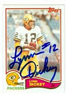 lynn dickey autograph
