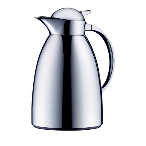 Alfi Albergo Chrome-Plated Tea/Coffee Thermal Carafe, 50-Ounce