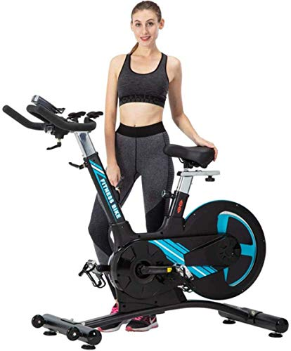 Zixin Indoor Cycling Cyclette casa Registrabile Muto Cyclette con Display LCD e frequenza cardiaca Detection Facile da spostare Ideale for uffici Uptodate