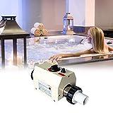 BAOSHISHAN Thermostat de Chauffe-Piscine de 3KW Thermostat électrique pour le chauffage de l'eau1.5 m3 à 2 m3 220 V