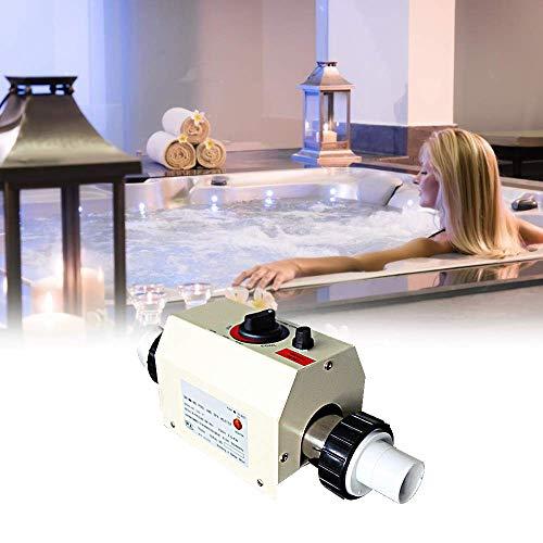 BAOSHISHAN 3KW Calentador de piscina Termostato de agua Bomba de calentamiento para...