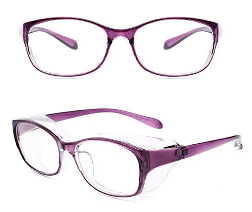 Alsenor Anti Fog Safety Goggles Protective Eyewear Blue Light Blocking Glasses UV Protection Frame For Men And Women