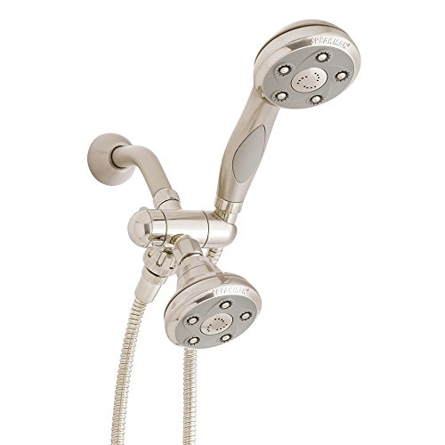 Speakman VS-232007-BN Napa Anystream 2-Way Shower Combination, 2.5 GPM, Brushed Nickel