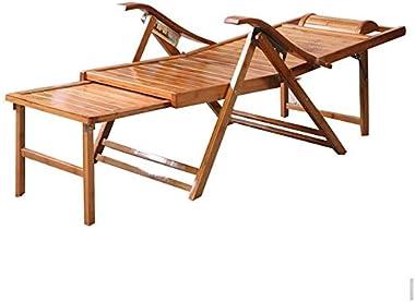 ADHW Recliner,Recliner Chairs Outside,Outdoor Garden Rocking Chair Relaxing Chair,Balcony Reclining Deck Chairs,Beach Sunbathing