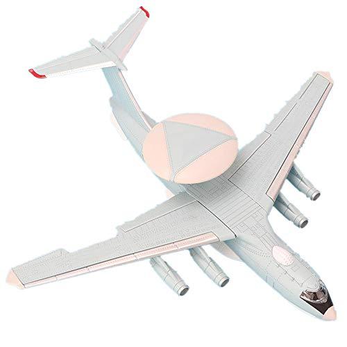 Vliegtuigen Model Vliegtuig Speelgoed, Schaal 1: 200 Vroege waarschuwing Vliegtuigen Met Beugel Vliegtuig Speelgoed Vliegtuig Model voor Kid Kinderen Bithday Christmas Parties Gift