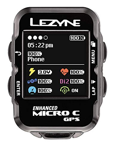 LEZYNE Micro Color GPS, Black, One Size