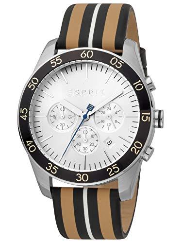 Esprit Jordan ES1G204L0015 - Reloj de pulsera para hombre (correa de piel,...