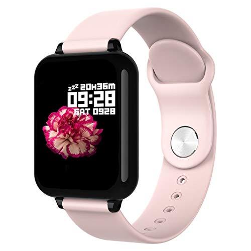 Smartwatch by ESCAPE, Smartband Orologio Fitness Activity Tracker Donna, Contapassi, Cardiofrequenzimetro Da Polso, Monitor del sonno, IP67, APP per Android e iOS. (Rosa)
