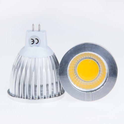Lemonbest 9W Warm White High Power COB LED MR16 Spot Light Downlight 60 Degree Floodlight Lamp 12 Volt
