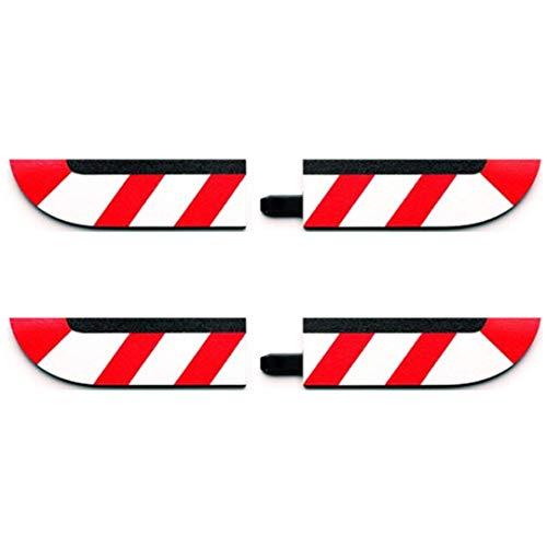 Carrera - rail et accessoire pour circuit - 20020599 - 1/24 et 1/32 - Carrera Evolution -Carrera Digital 132 et 124 - Embouts bordures intérieures pour les virages (4), petit