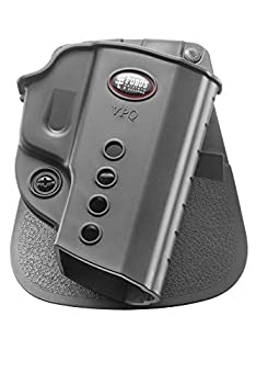 Fobus VPQ Evolution Holster for H&K USP Compact & Full Size .45 VP9 & VP9SK Taurus G2C 9mm PT111 G2 Walther PPQ Classic & M2 9mm &.40 Right Hand Paddle  Black