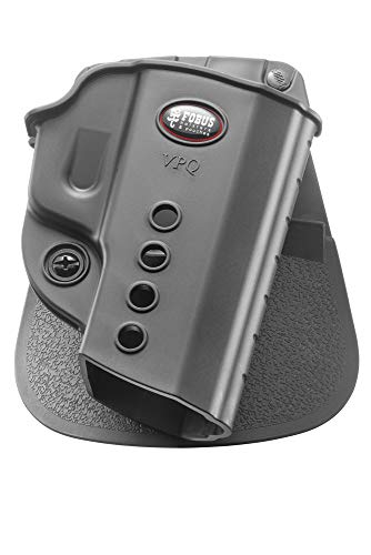Fobus VPQ Evolution Holster for H&K USP Compact & Full Size .45, VP9 & VP9SK, Taurus G2C 9mm, PT111 G2, Walther PPQ Classic & M2 9mm &.40, Right Hand Paddle
