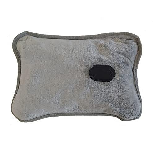 Adler AD 7427 - Borsa dell'acqua calda elettrica con rivestimento morbido, 360 W, cuscino termico per adulti e bambini, mantiene la temperatura fino a 5 ore, cuscino da letto, colore: blu