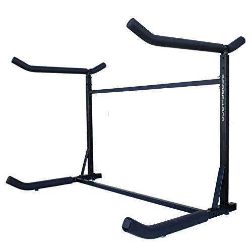 SPAREHAND Catalina Freestanding Double Storage Rack System for 2...
