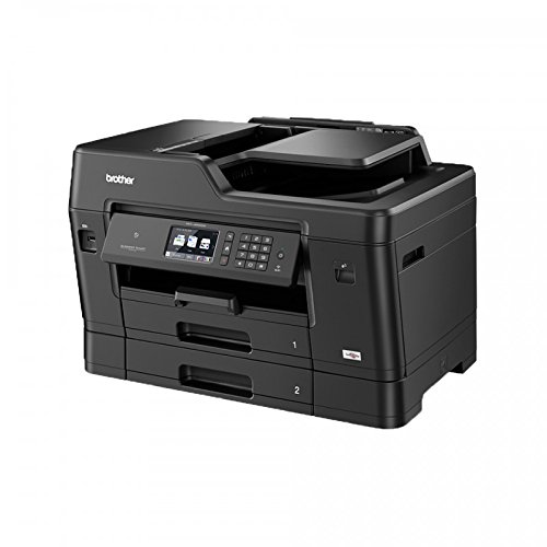 Brother mfc-j6930dw stampante multifunzione a inchiostro A4e A3. Collegamento Wi-Fi, Fax, funzione a doppio lato in tutte le funzioni, doppio vassoio, vassoio multiuso e NFC, UW320Certificato)