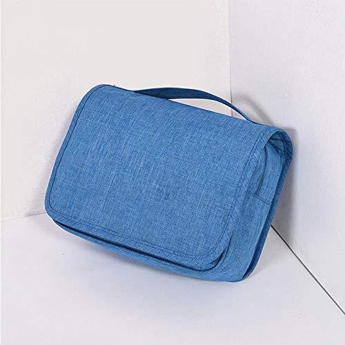 Sxuefang Trousse de Toilette Crochet-et-Wash Multifonctionnel Trousse Polyester 10 * 17 * 25 cm