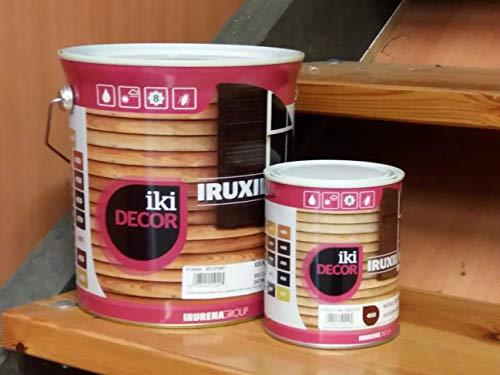 Protector de madera al agua Satinado Iruxil W Iki Decor - 4 L, Incoloro